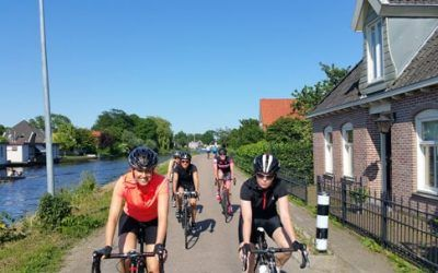 Bicycle tours with a road bike
