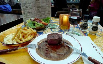 Café Loetje Means Steak