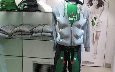 Cool Heineken Store