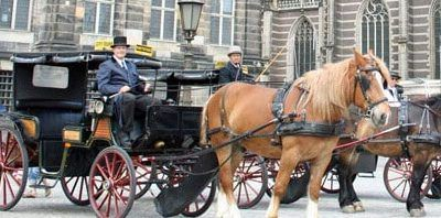 Tour Amsterdam in a Horse Drawn Carriage