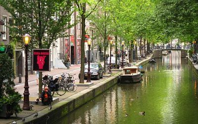 Self Guided Amsterdam City Walk: Red Light District