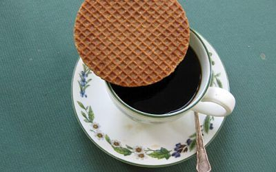 Treacle Waffles from Gouda
