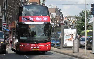 Hop-on Hop-off Bus Amsterdam City Sightseeing Tour