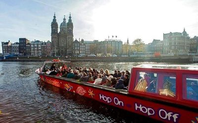 Hop-on Hop-off Cruise, Unique Way to See Amsterdam Highlights