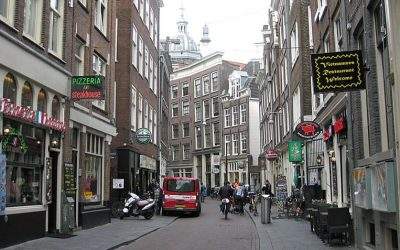 Asian Shopping Street Zeedijk – Oldest Street in Amsterdam